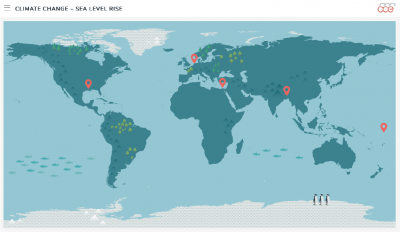 sea level rise multimedia activity